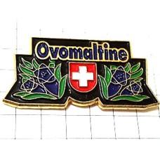 ピンズ・ココアの飲み物スイス国旗の紋章