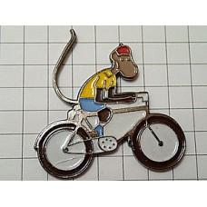 ピンズ・自転車ぞうのババールの猿ゼフィール