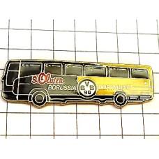 ピンバッジ・サッカーボルシアドルトムント車バス