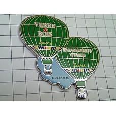 ピンズ・緑の気球