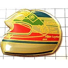 ピンズ・F1イバンカペリ車レースヘルメット