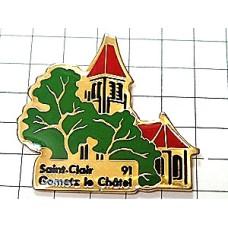 ピンズ・赤い屋根の教会