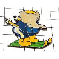ピンズ・ぞうのババールのスキー象