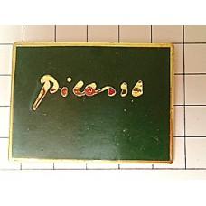 ピンズ・ピカソのサイン緑