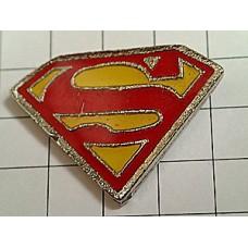ピンバッジ・映画スーパーマンのS