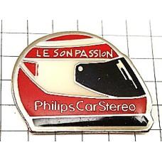 ピンバッジ・ヘルメットF1レース車