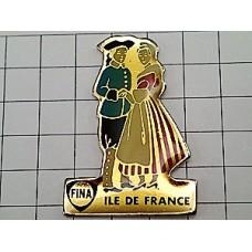 ピンズ・フランス民族衣装