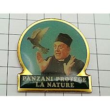 ピンズ・パンザニのパスタ神父さんと白い鳥