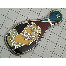 ピンバッジ・ディズニーキャラクター瓶型
