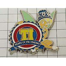 ピンバッジ・ディズニーのピーターパンのティンカーベル