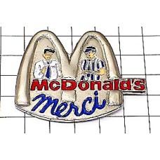 ピンズ・マクドナルドMありがとうメルシー店員さん