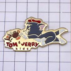 ピンバッジ・トムとジェリー追いかけっこ