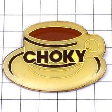 ピンズ・CHOKY/ココアのカップとソーサー
