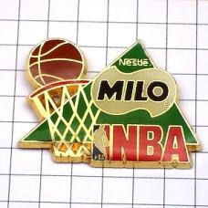 ピンバッジ・ミロ飲物/NBAバスケットボールアメリカ