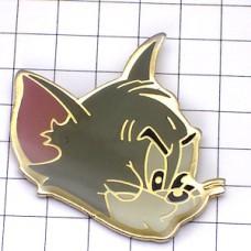 ピンバッジ・トムとジェリー猫トム漫画