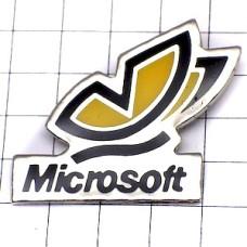 ピンズ・マイクロソフト黄色い蝶々