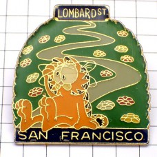 ピンズ・ガーフィールド猫サンフランシスコ漫画