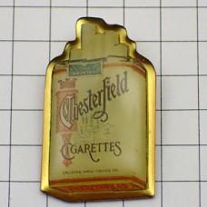 ピンバッジ・チェスターフィールド煙草の箱
