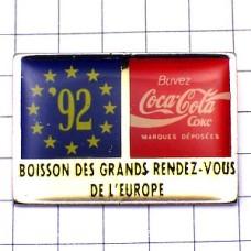 ピンズ・ユーロ旗コカコーラ92年
