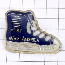 ピンズ・バスケットシューズ電話局AT&T靴