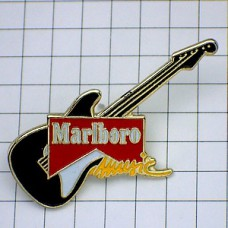 ピンバッジ・マルボロ煙草エレキギター音楽楽器