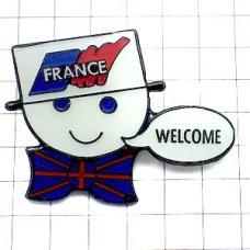 ピンズ・フランス大会ワールドカップサッカー英国国旗のネクタイ