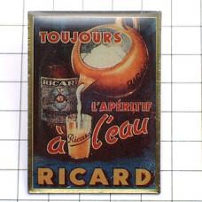 ピンズ・リカール酒レトロ広告パスティス看板