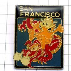 ピンズ・猫ガーフィールド漫画サンフランシスコの竜ドラゴン/USA