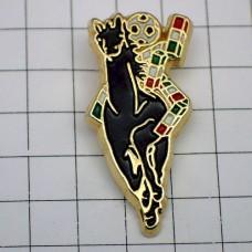 ピンズ・イタリア大会サッカーワールドカップ黒い馬