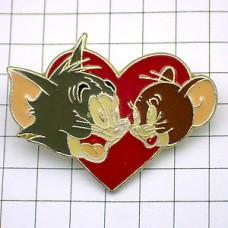 ピンバッジ・トムとジェリー猫とねずみ漫画