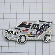 ピンズ・三菱ラリーレース車