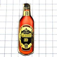 ピンバッジ・グラン酒ウイスキー瓶型