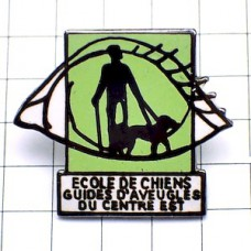 ピンバッジ・盲人盲導犬の学校