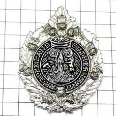 ピンズ・紋章ロイヤルスコットランド連隊
