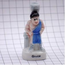 フェブ・古代ギリシャの柱と男