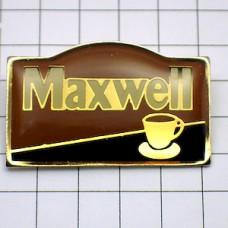 ピンバッジ・マックスウェルのコーヒーカップ珈琲