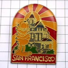 ピンズ・猫ガーフィールド漫画サンフランシスコの家/USA
