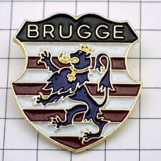 ピンバッジ・ライオンの紋章ベルギー国