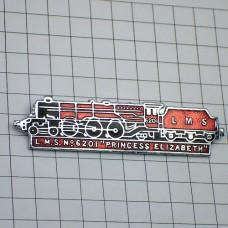 ピンバッジ・プリンセスエリザベス蒸気機関車