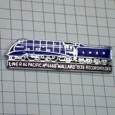 ピンバッジ・4468マラード蒸気機関車