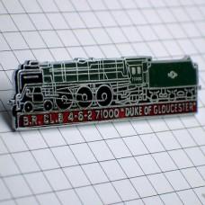 ピンバッジ・デュークオブグロスター蒸気機関車