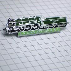 ピンバッジ・キングアーサー蒸気機関車