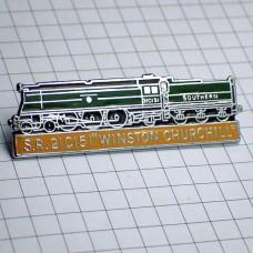 ピンバッジ・ウインストンチャーチル蒸気機関車