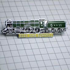 ピンバッジ・キングエドワード蒸気機関車