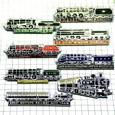 ピンバッジ・トレイン蒸気機関車セット8両