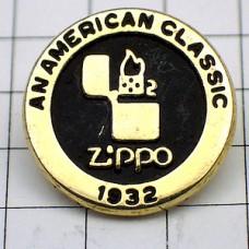 ピンバッジ・ジッポー煙草ライター1932年