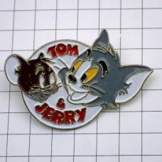 ピンバッジ・トムとジェリー猫とネズミ漫画
