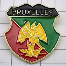 ピンズ・ブリュッセル紋章ミカエル大天使ベルギー