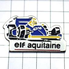 ピンバッジ・エルフF1レースの車