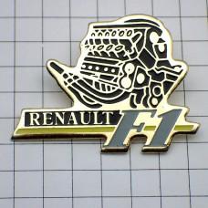 ピンバッジ・ルノーF1エンジン車